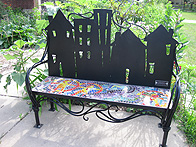 Smoke Free Homes Bench